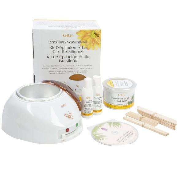GiGi Waxing Kit / Hair Removal Body Wax Warmer Spa